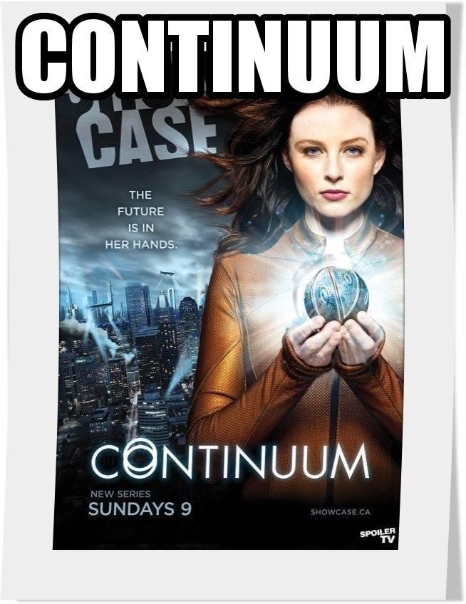 سریال Continuum فصل اول