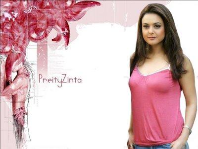 بازیگر خوشگل هندی پریتی زینتا / Preity Zinta
