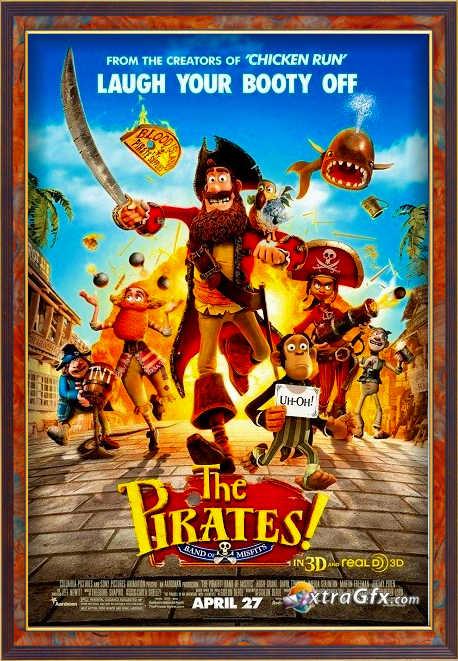 انیمیشن The Pirates! Band of Misfits 2012