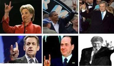 نماد دست شیطان یا دست ماسون نماد فراماسونری