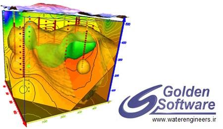 Golden Software Surfer ترسيم نقشه هاي مهندسي با كمك Golden Software Surfer 10.1.561