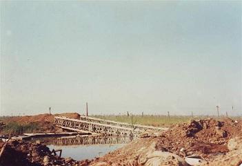 پل مرگ نهر جاسم شلمچه