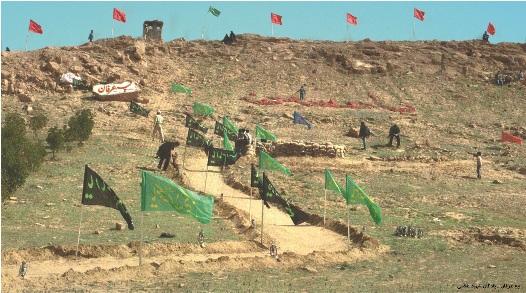 تپه عرفان واقع در سایت خیبر(پادگان شهید بهروز غلامی)