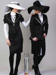 لباس مجلسی با حجاب کامل