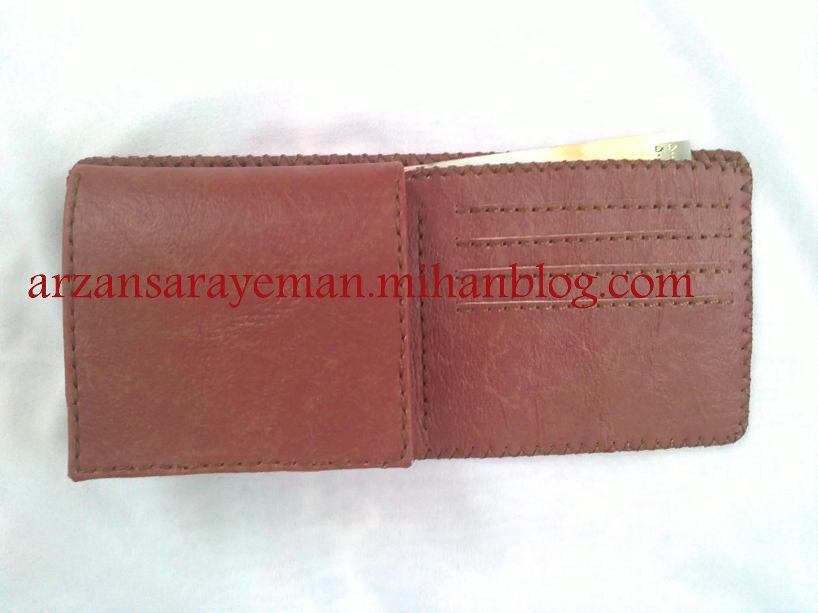 یخن های دست دوزی مردانه آموزش دوخت کیف پول چرمی (چرم دوزی)