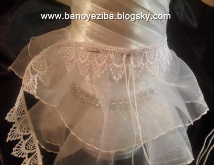 عروس داماد قلاب بافی هنر در خانه|قلاب بافی - تزیینات ساده جهزیه عروس