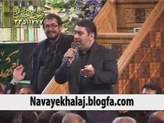 حاج حسن خلج مراسم ختم همسرشان در مهدیه تهران