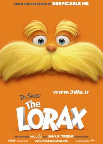 dr seuss lorax 3d sbs,انیمیشن سه بعدی لوراکس