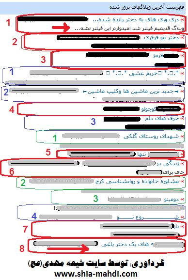 وبلاگ های بروز شده   www.shia-mahdi.com