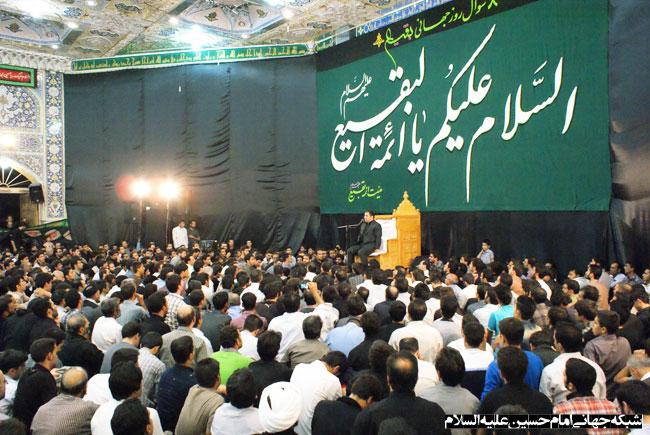 حاج حسن خلج ، هیئت ائمه بقیع اصفهان 1391
