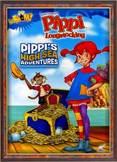 انیمیشن Pippi's High Sea Adventures 2012
