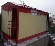کانکس سرویس بهداشتی 6 چشمه با ورودی جدا گانه
