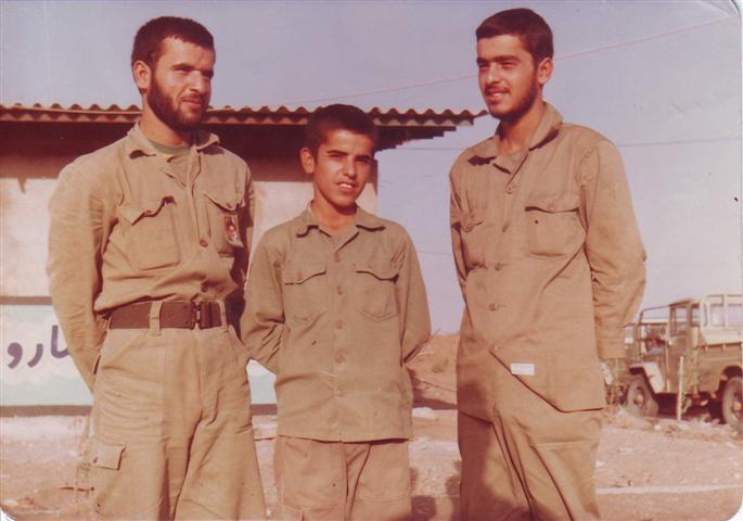 محمدحسین ،غلامحسین و شهید یونس ستونه