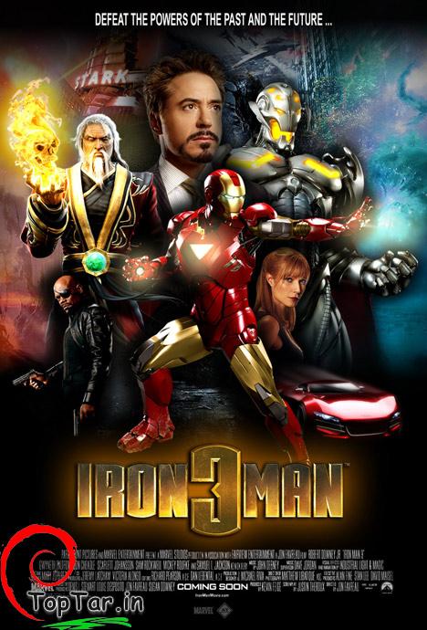پوستر اورجینال فیلم مرد آهنی 3