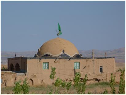 مسجد جامع و قدیمی روستای اغولبیک تکاب