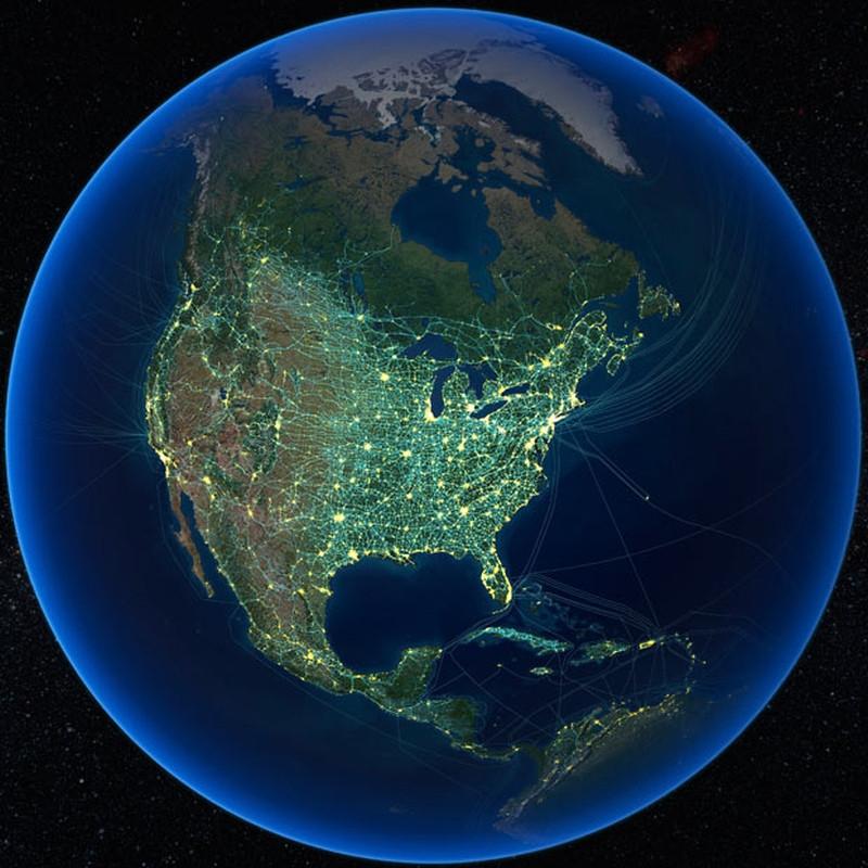 فناوریهای انسان در آمریکا