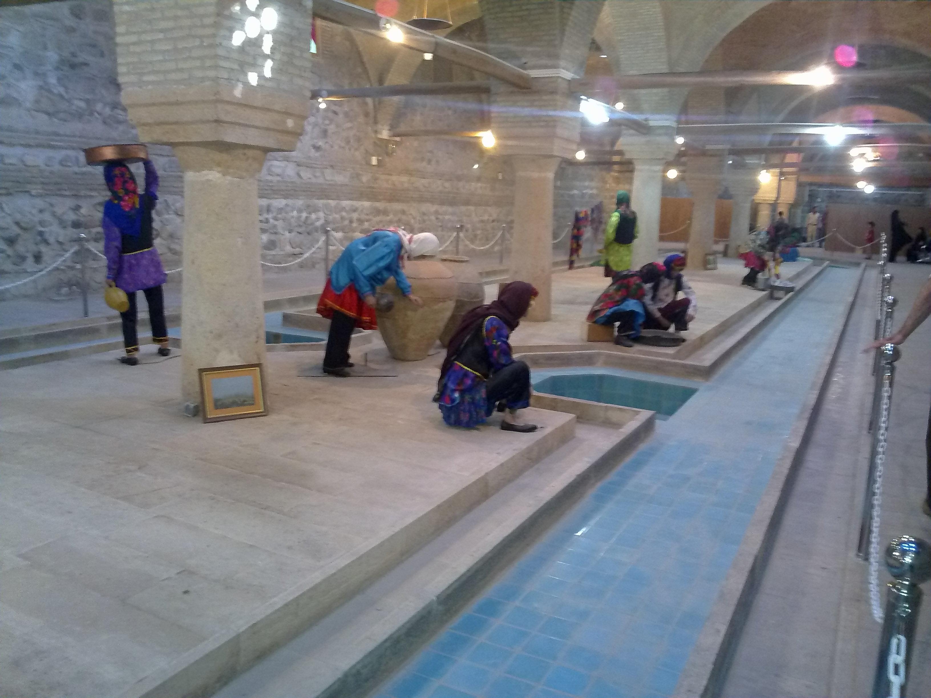موزه رختشویخانه نیز از جمله نقاط دیدنی زنجان