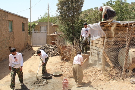 گروه جهادی نبی اکرم ص سریش آباد-کردستان-محمد حیدری-مریوان-تعمیرخانه محروم-جهادی سریش اباد