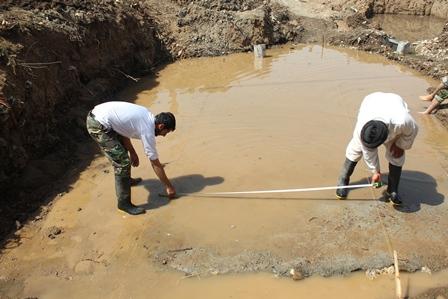 گروه جهادی نبی اکرم ص-سریش آباد-کردستان-روستای ساوجی-مریوان-پروژه پل سازی-محمدحیدری