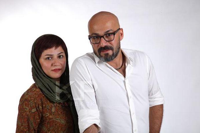 عکس جدید امیر جعفری و همسرش