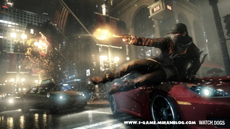 عکس بازی Watch Dogs