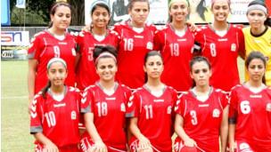 پیروزی افغانستان بر پاکستان در مسابقات جام قهرمانی فوتبال بانوان جنوب آسیا