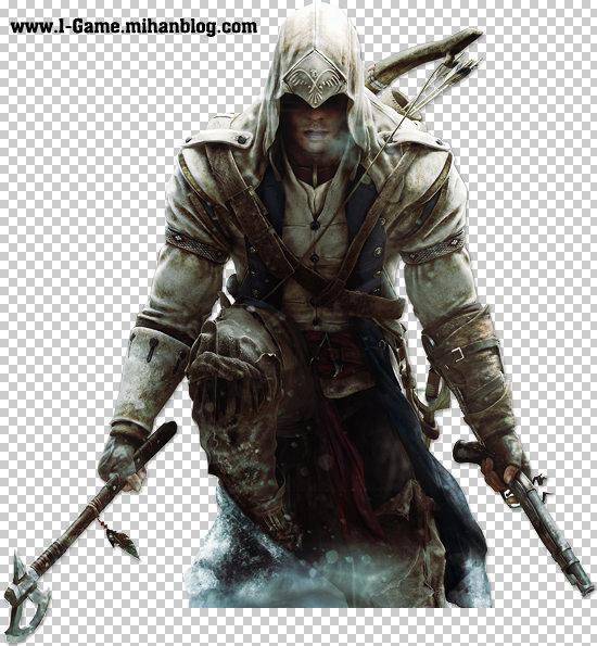 عکس کانر در بازی Assassin's creed III