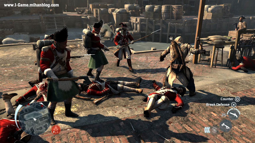 عکس بازی Assassin's Creed 3
