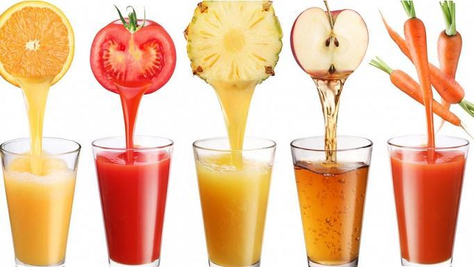 عکس آب میوه های تازه