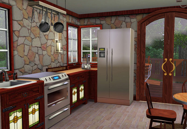 sims 3 kitchen ideas دنیای سیمز simsworld 21712