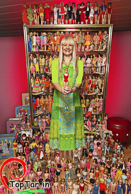 بزرگترین کلکسیون عروسک های باربی