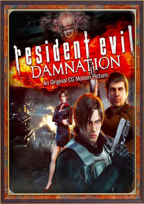 انیمیشن Resident Evil Damnation 2012