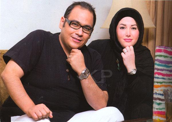 جدید ترین عکس های رضا داود نژاد و همسرش