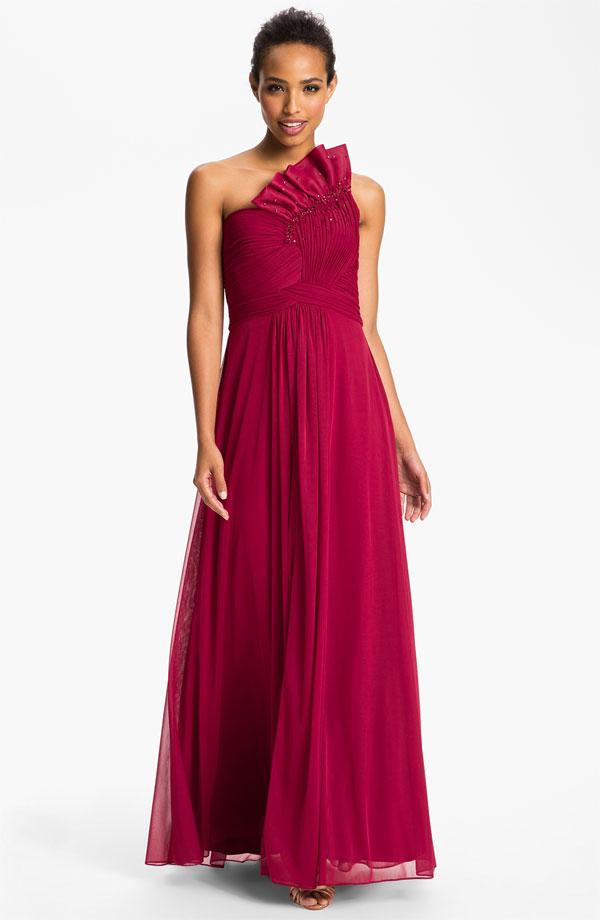 لباس بلند زرشکی