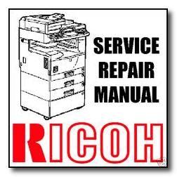 سرویس منوآل دستگاههای كپی Ricoh
