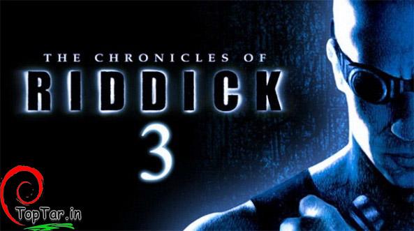 پوستر فیلم ریدیک 3 در سال 2013