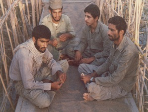 شهیدان علی مواساتی،عبدالصمد چوبی،خسرو ذره و سید علی صباحی