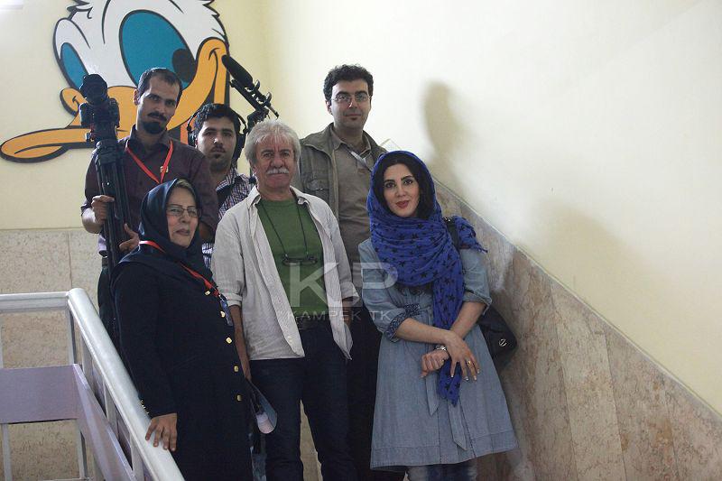 عکس های لیلا بلوکات و مسعود کرامتی در اصفهان