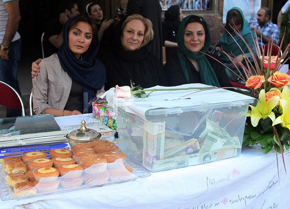 عکس جدید السا فیروز اذر در کنار تهمینه میلانی