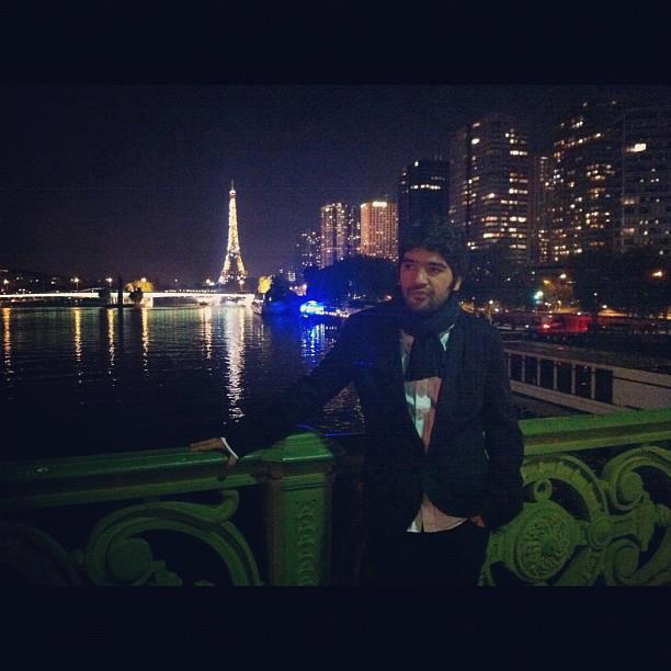 عکس jj در پاریس