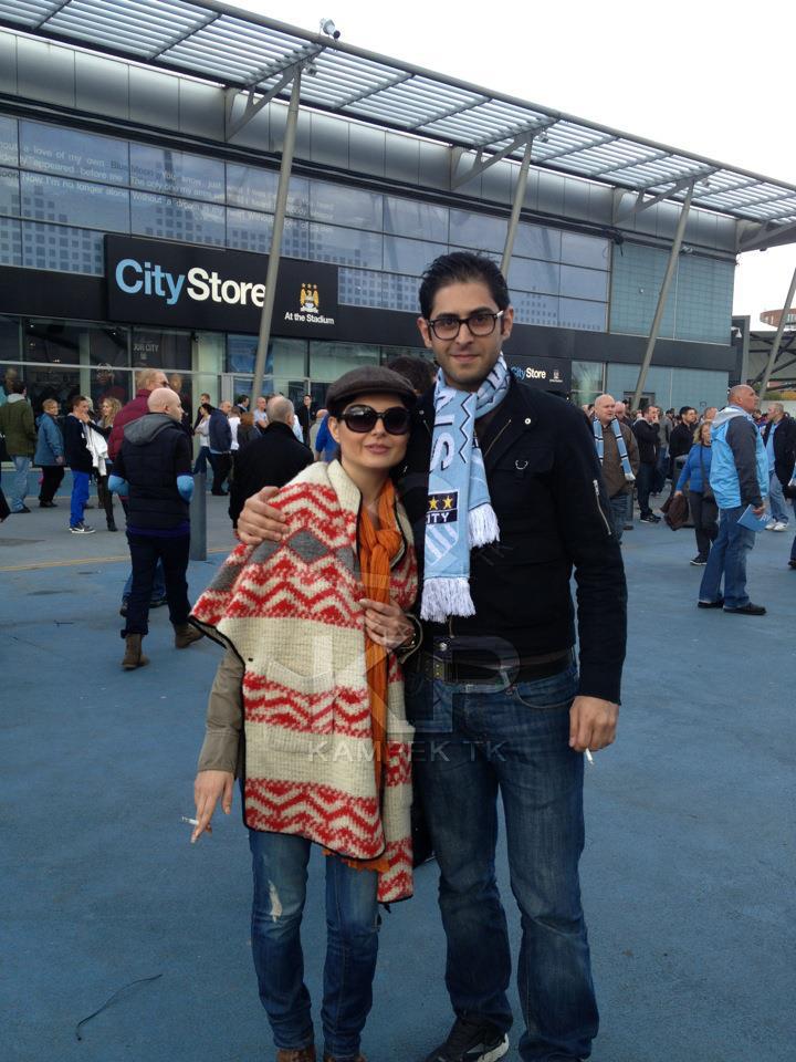 عکس جدید سولماز غنی در کنار برادرش