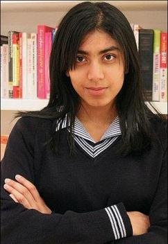 دختری با بهره هوشی بالاتر از انیشتین
