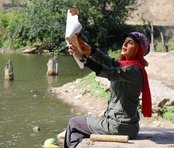 جدیدترین عکس های بازیگران در رالی ایرانی