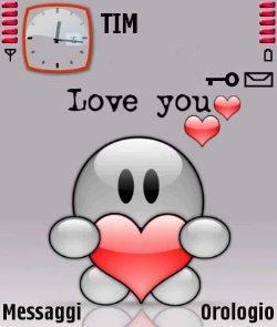 عکس   دانلود تم Love You سیرجان ۲دانلود برای سری 60 ورژن 3