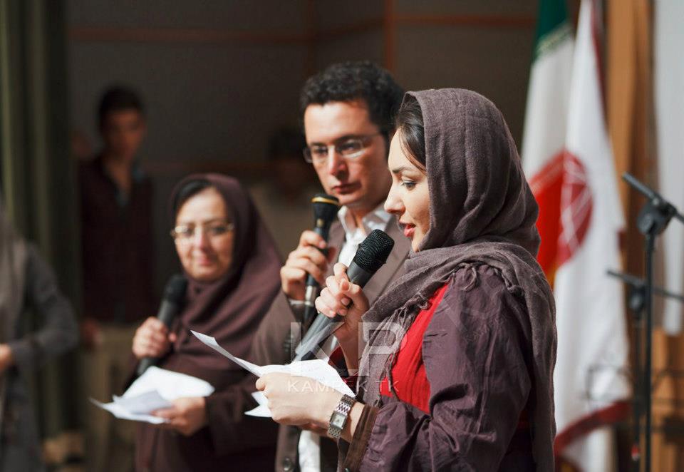 عکس های هانیه توسلی در یک مراسم