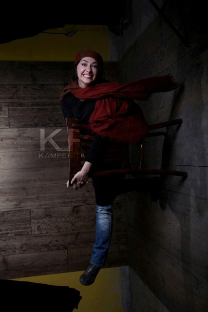جدید ترین عکس اتیله ای هانیه توسلی