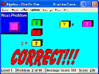 بازی سرگرم کننده جبری Algebra - One On One