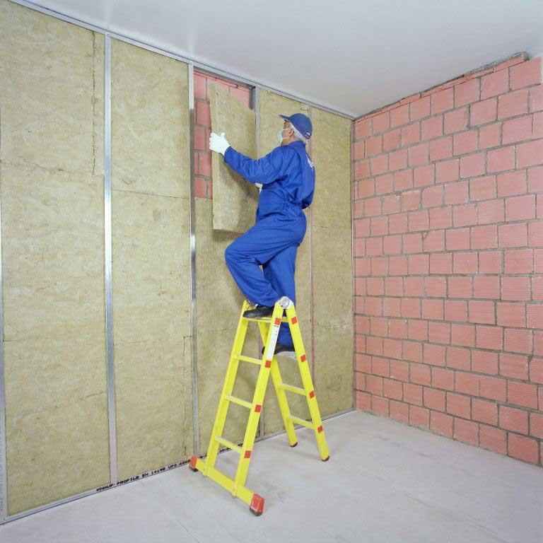 نصب دیوار پوششی LSF