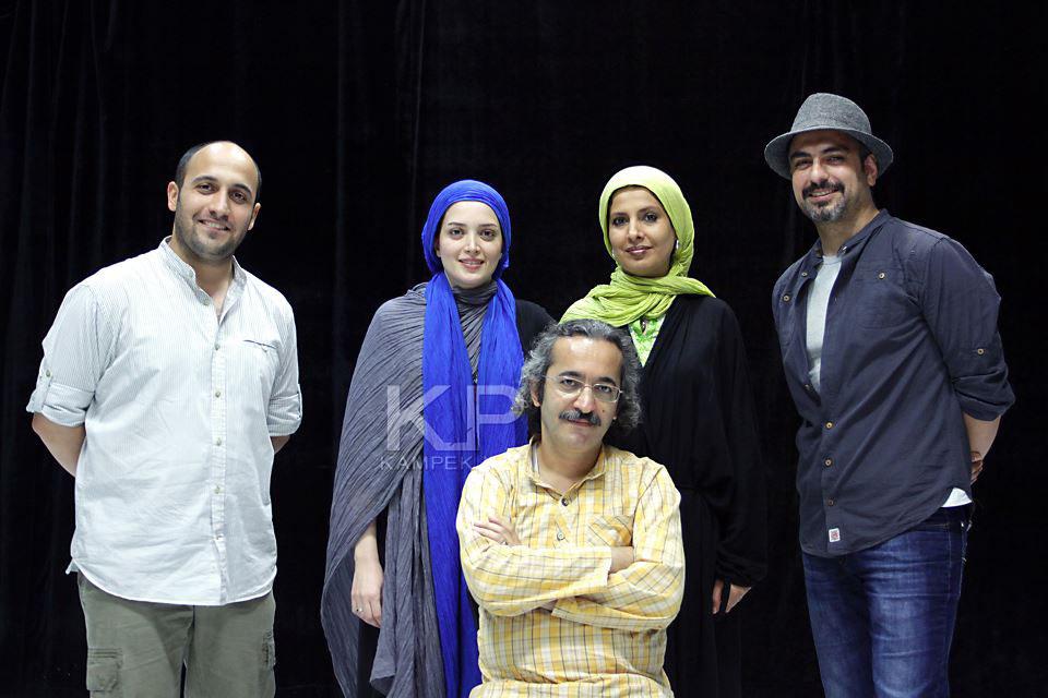 عکس جدید بهنوش طباطبایی و همسرش مهدی پاکدل در تئاتر