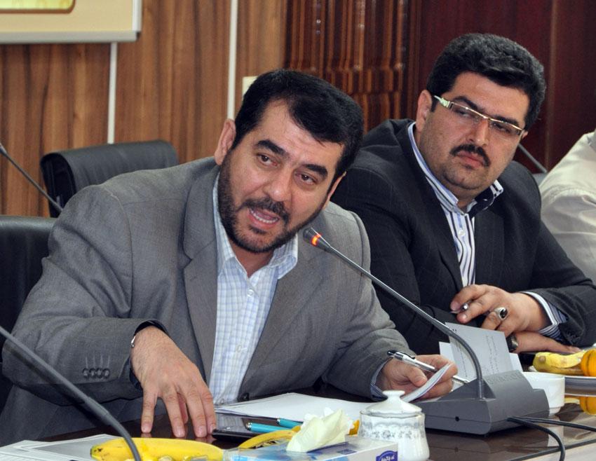 حاج حسن میلانی  در نشست هيئت امناي دفتر منطقه 7 کمیسیون حقوق بشراسلامی با بزرگان و معتمدين شهر تبريز